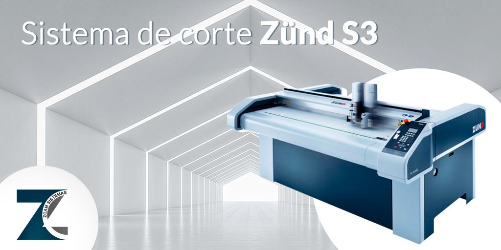 Sistema de corte Zünd S3