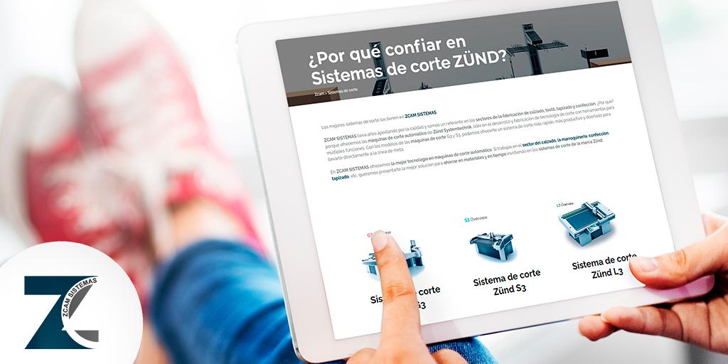Sistemas de corte Zünd para tu producción
