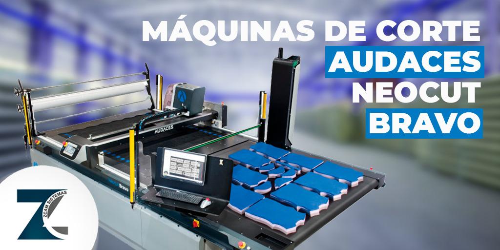 Audaces Neocut Bravo máquina de corte
